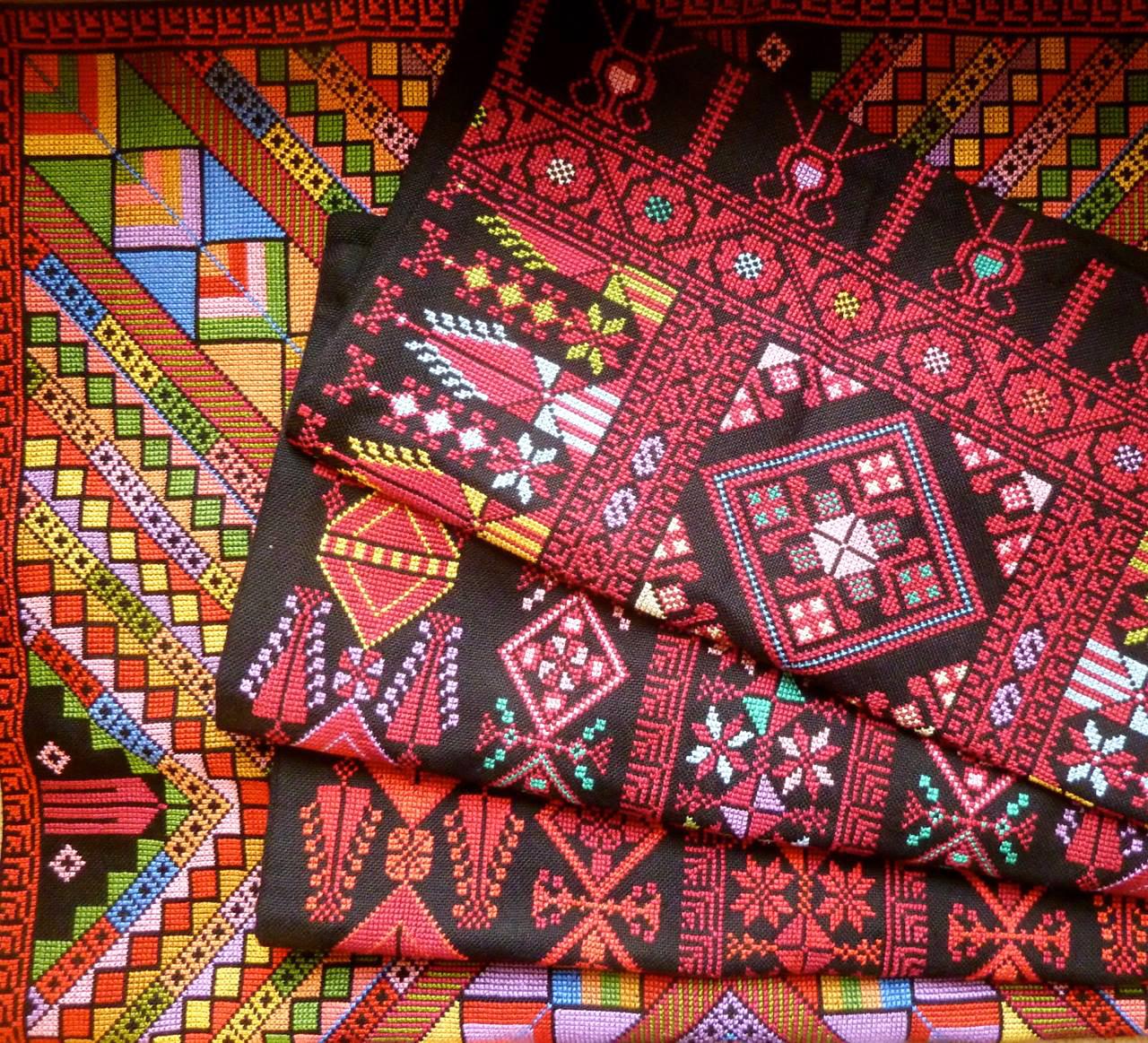 palestinian embroidery motifs