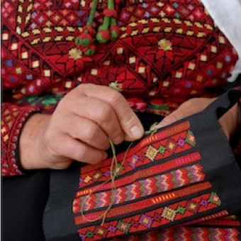 Palestinian Embroidery: Cross Stitch Embroidery Techniques & Patterns