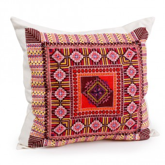 Embroidered Cushion Cover - Old Surif