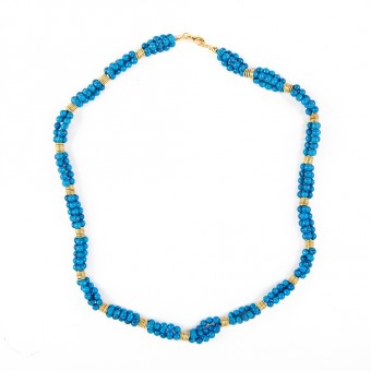 Bedouin Necklace - Sky Blue