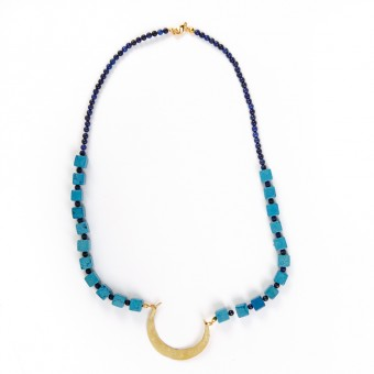Bedouin Necklace - Crescent