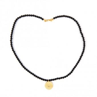 Bedouin Brass Necklace - Shams