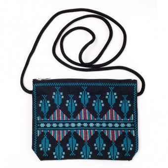 Idna Small Shoulder Bag (Turquoise)