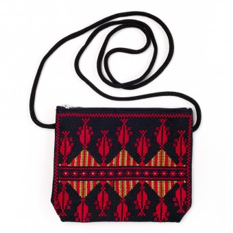 Idna Small Shoulder Purse (Red)