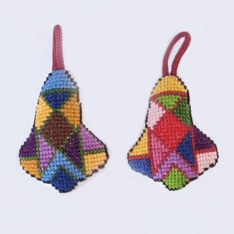Ornament - Embroidered Bell