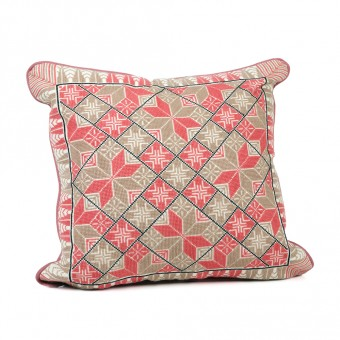 Embroidered Cushion Cover - Canaanite Star