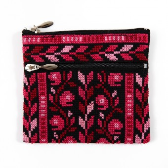 Idna Double-zipped Coin Purse