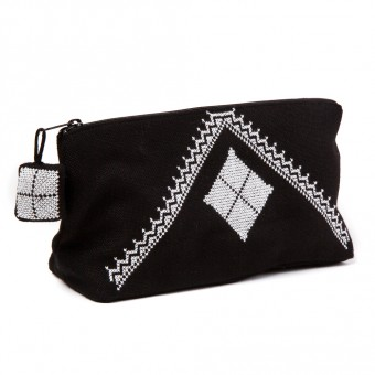 Make-up Purse - Square Motif