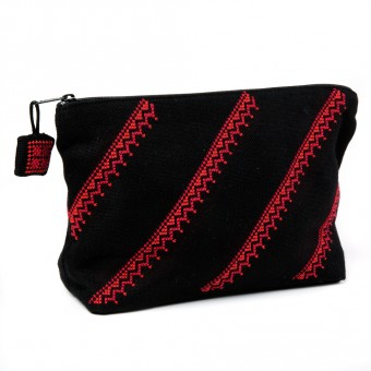 Make-up Purse - Parallel Motif