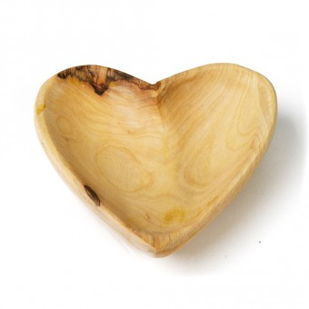 Olivewood Dish - Heart