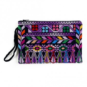 Bethlehem Clutch with Crocheted Strap