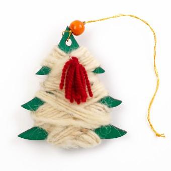 Bedouin Wool Ornament (Tree)