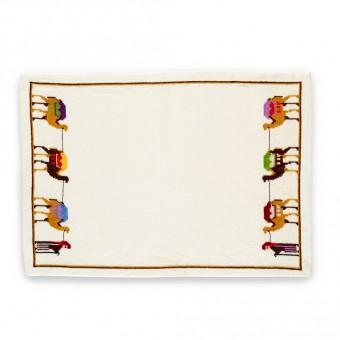 Embroidered Placemat - Desert Caravan