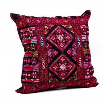Embroidered Cushion Cover - Amman