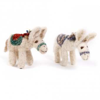 Bedouin Needle-felted Donkey