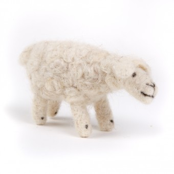 Bedouin Needle-felted Sheep