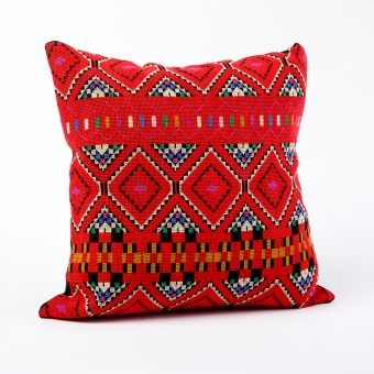 Embroidered Cushion Cover - Hebron (Square)