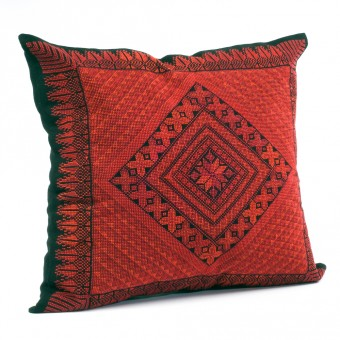 Embroidered Cushion Cover - Cypress