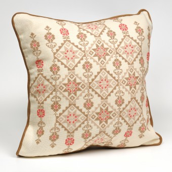 Embroidered Cushion Cover - Desert Star