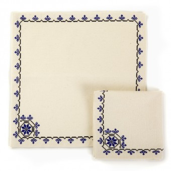 Embroidered Napkin - Canaanite Stars