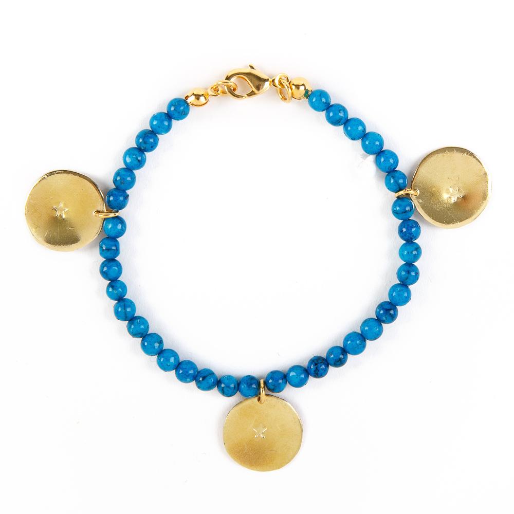 Bedouin Brass Bracelet - Shams