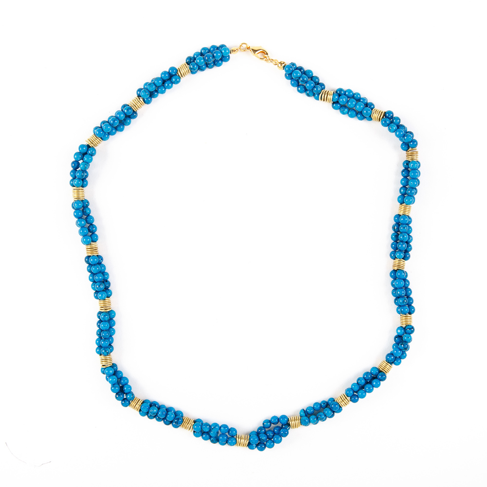 Bedouin Necklace - Sky Blue