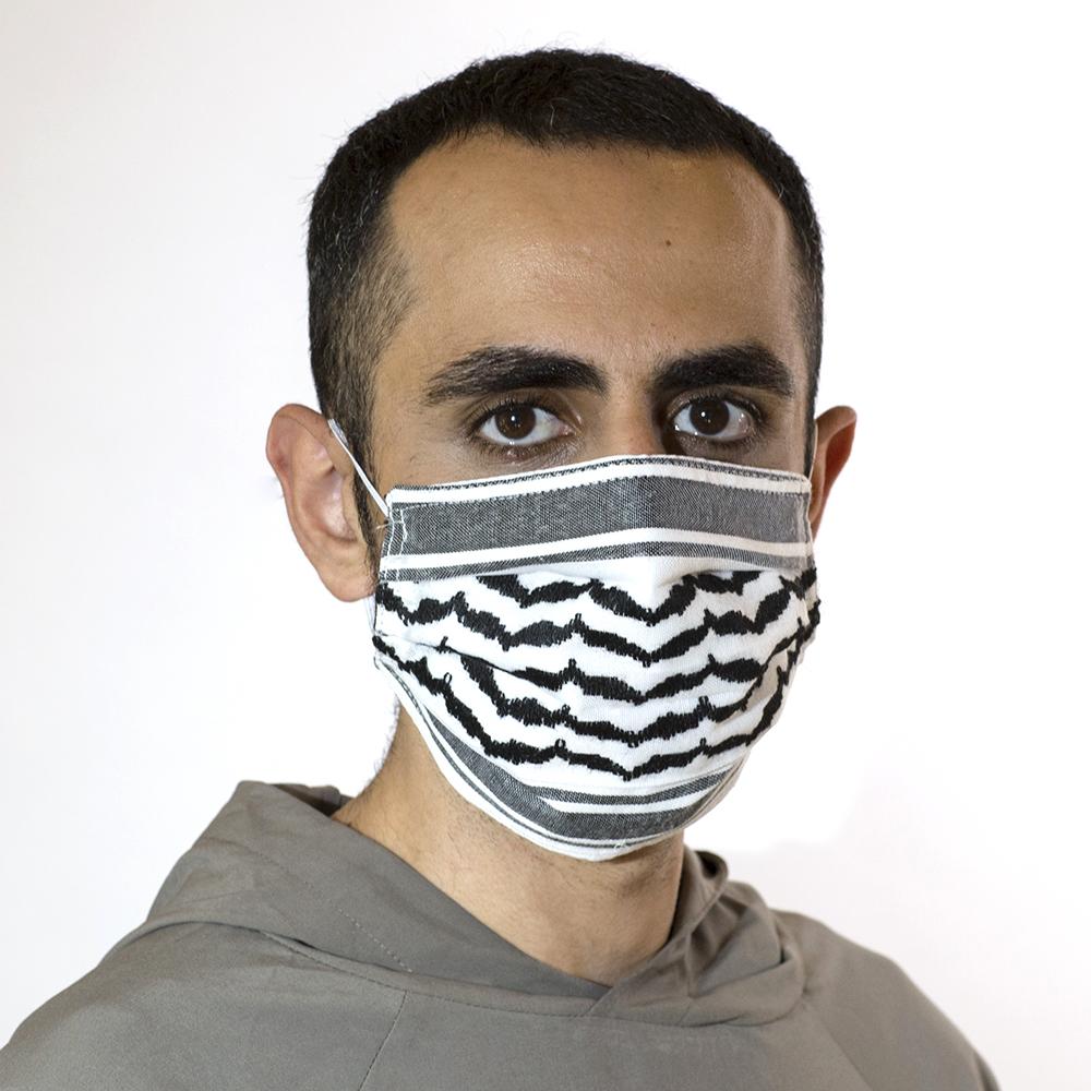 Kaffiyeh Face Mask