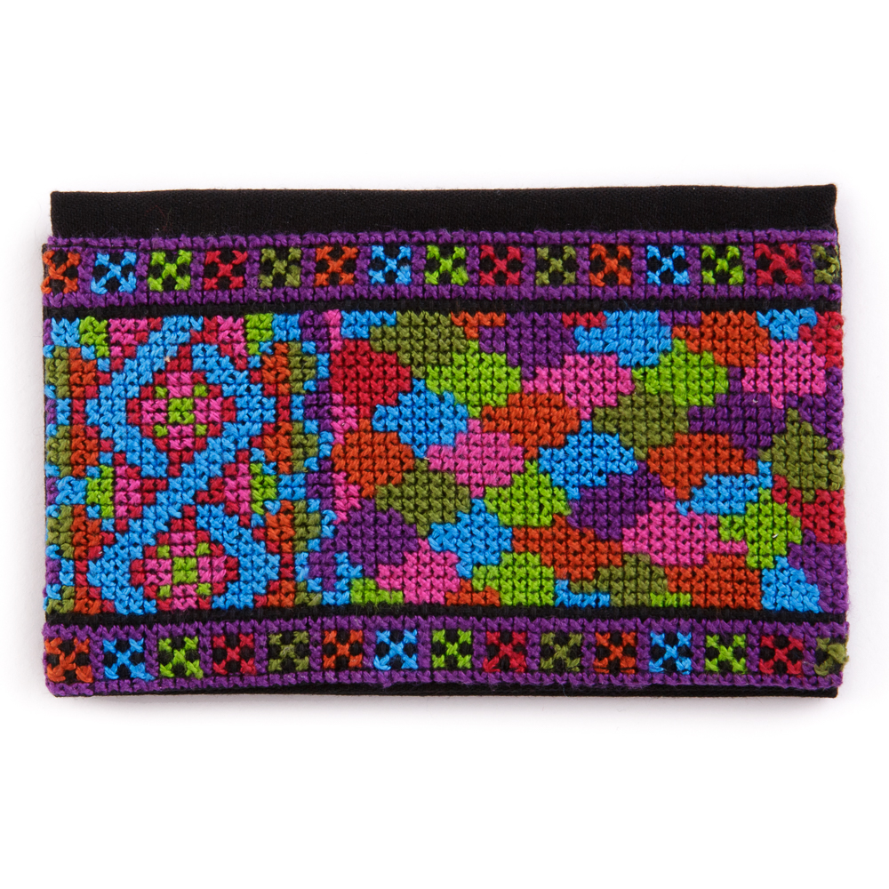 Embroidered Business Card Holder