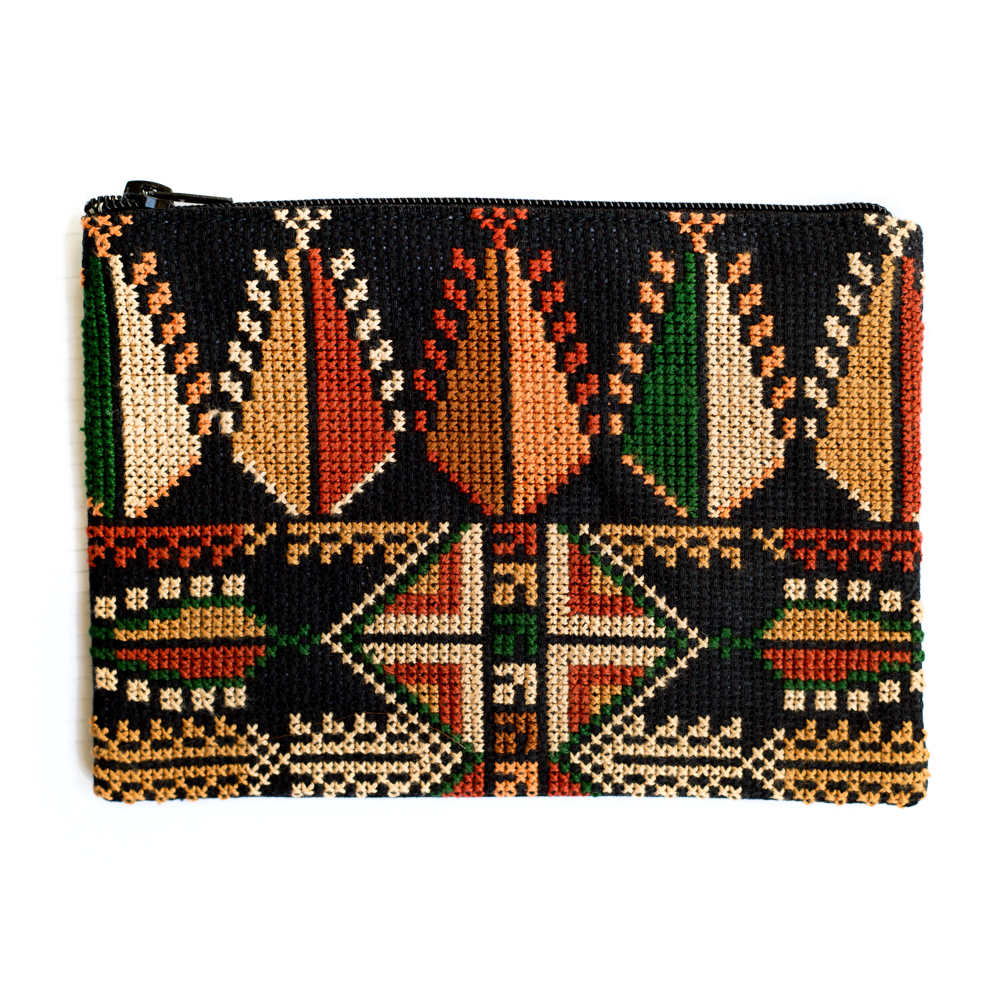 Gaza Make-up Purse (Brown)