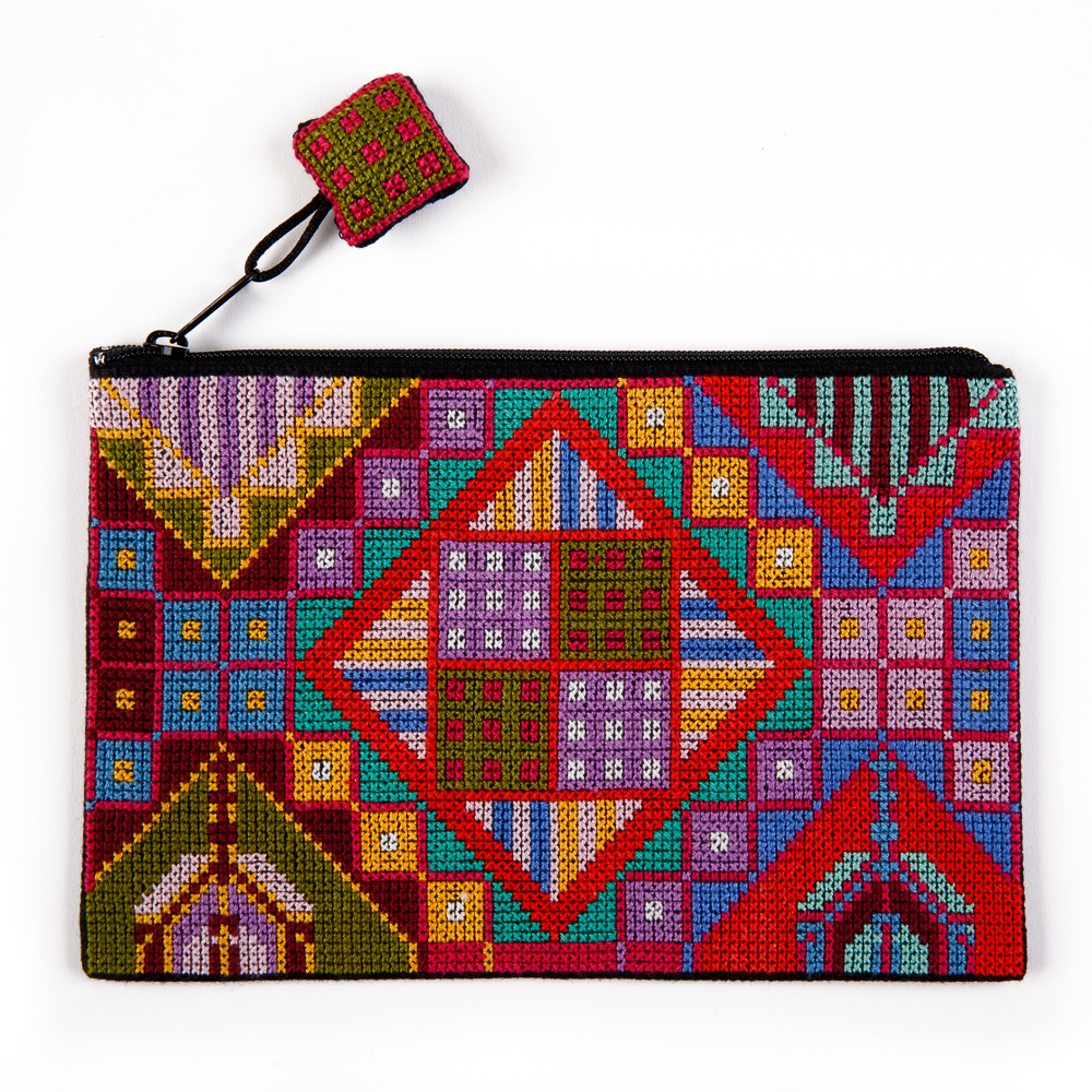 Make-up Purse - Hijab and Eye (Multi-color)
