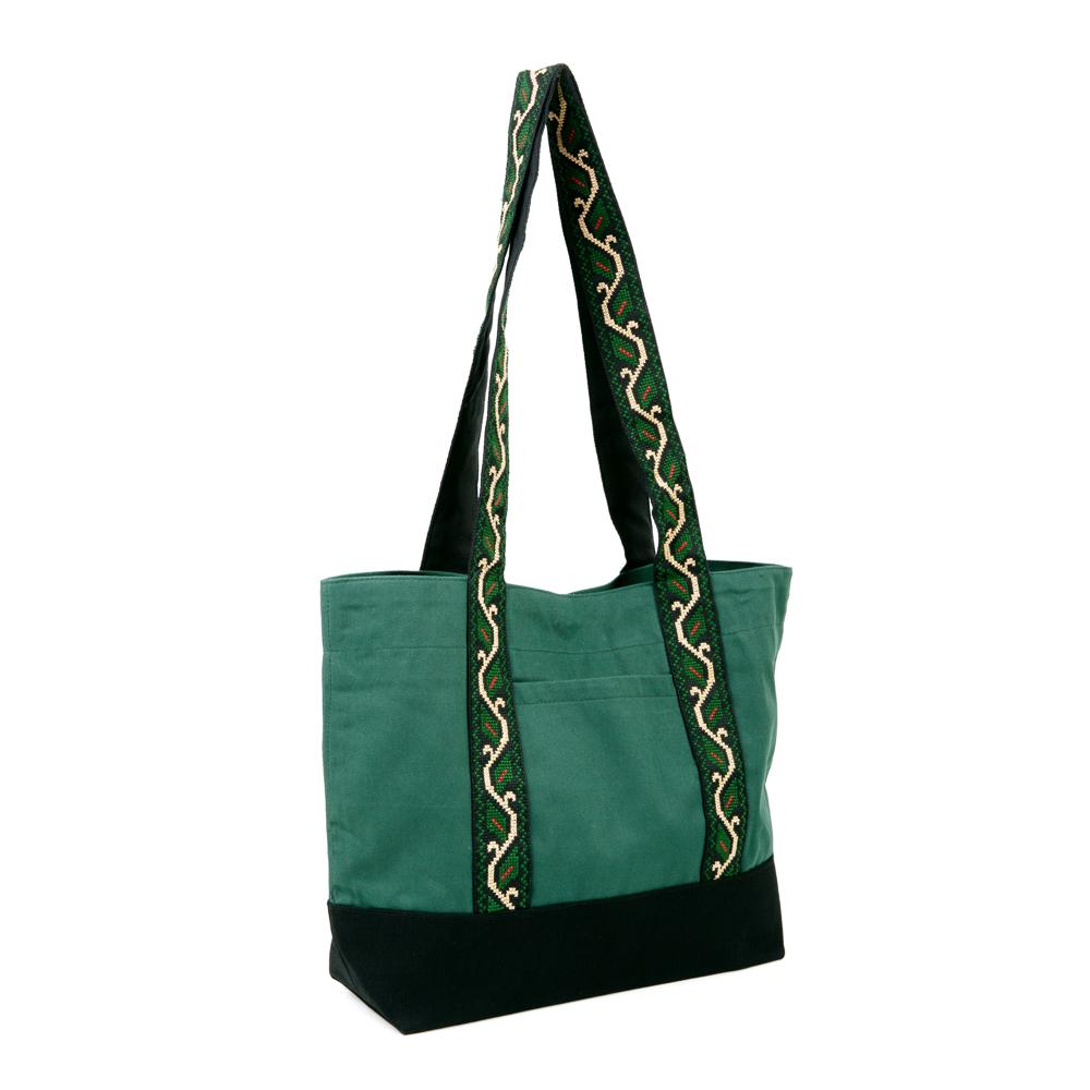 Tote Bag - Vine Leaves (Green)