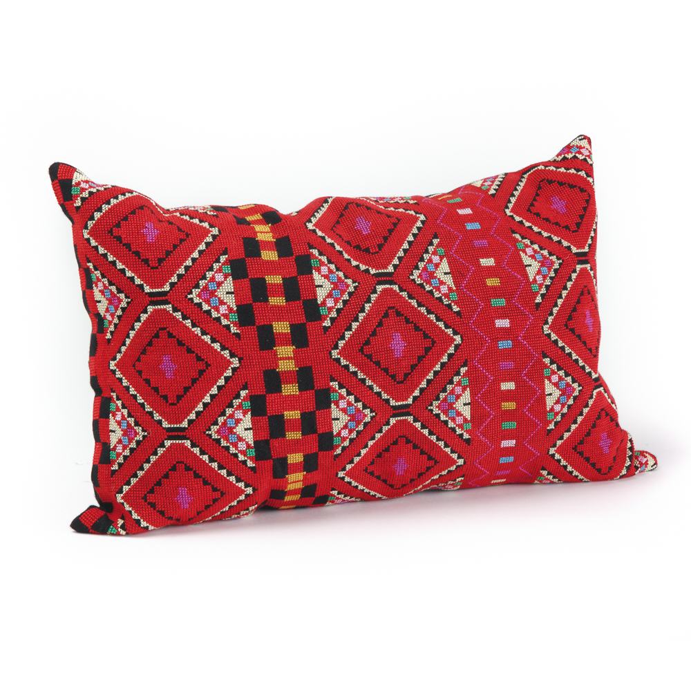 Embroidered Cushion Cover - Hebron (Rectangle)