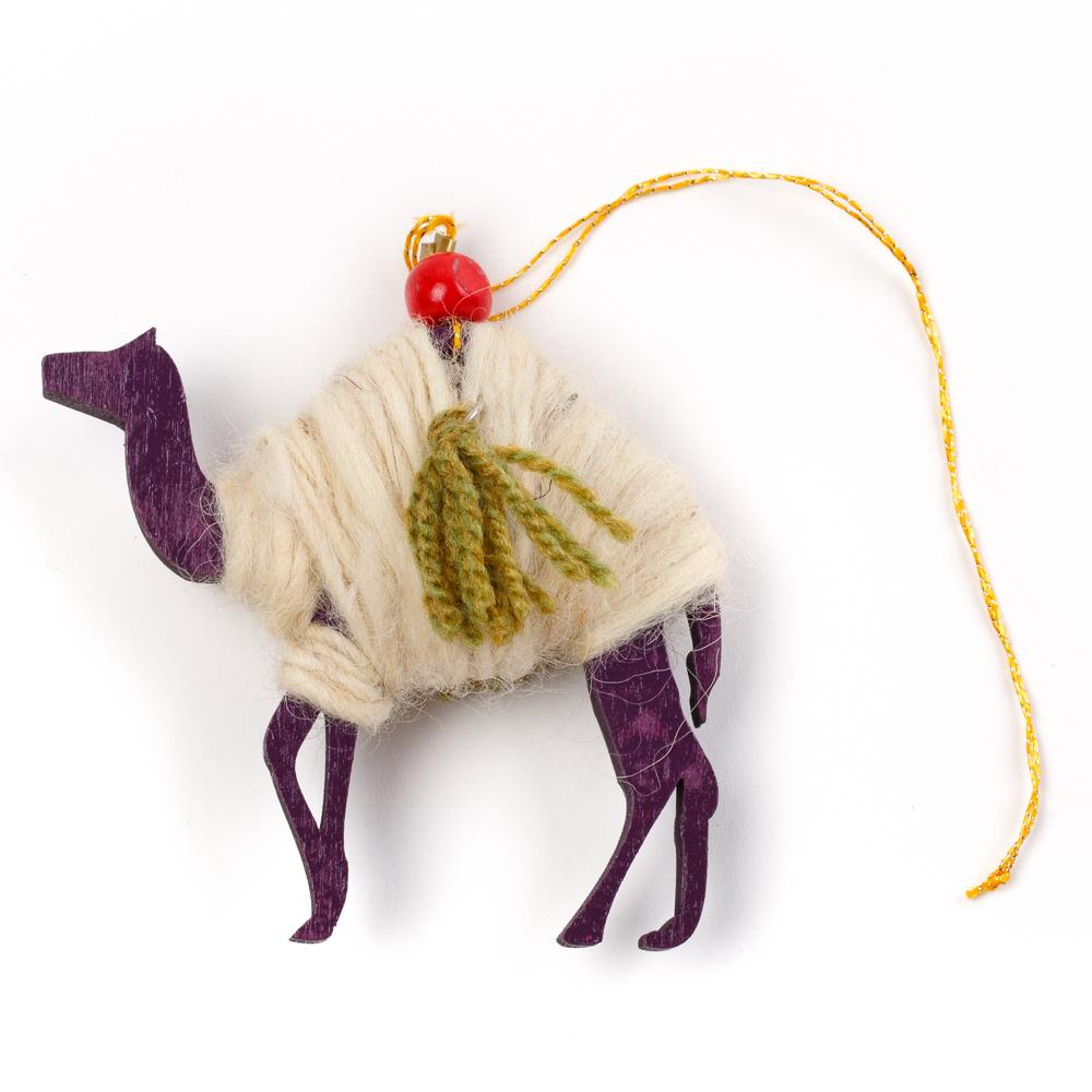 Bedouin Wool Ornament (Camel)