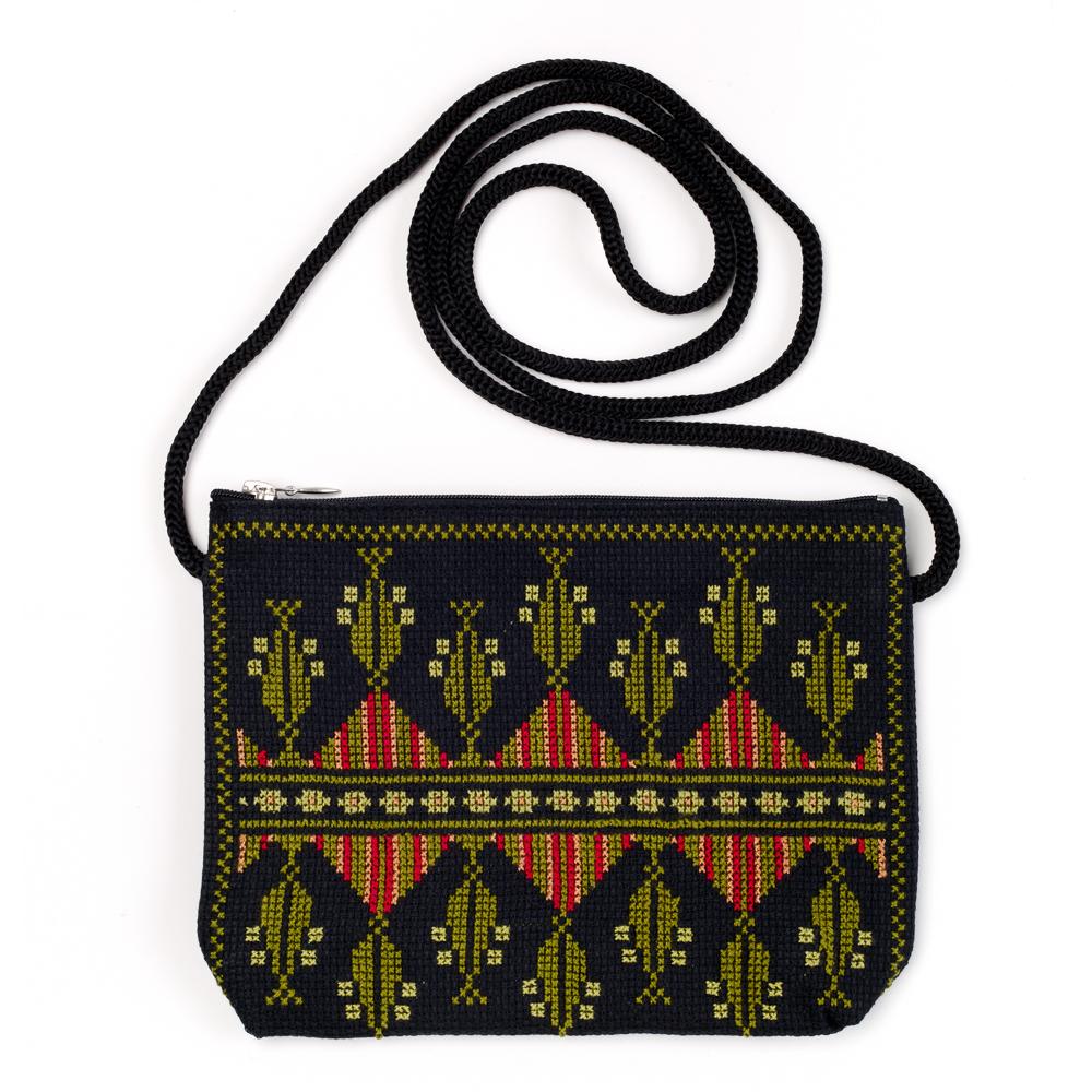Idna Small Shoulder Bag (Olive)