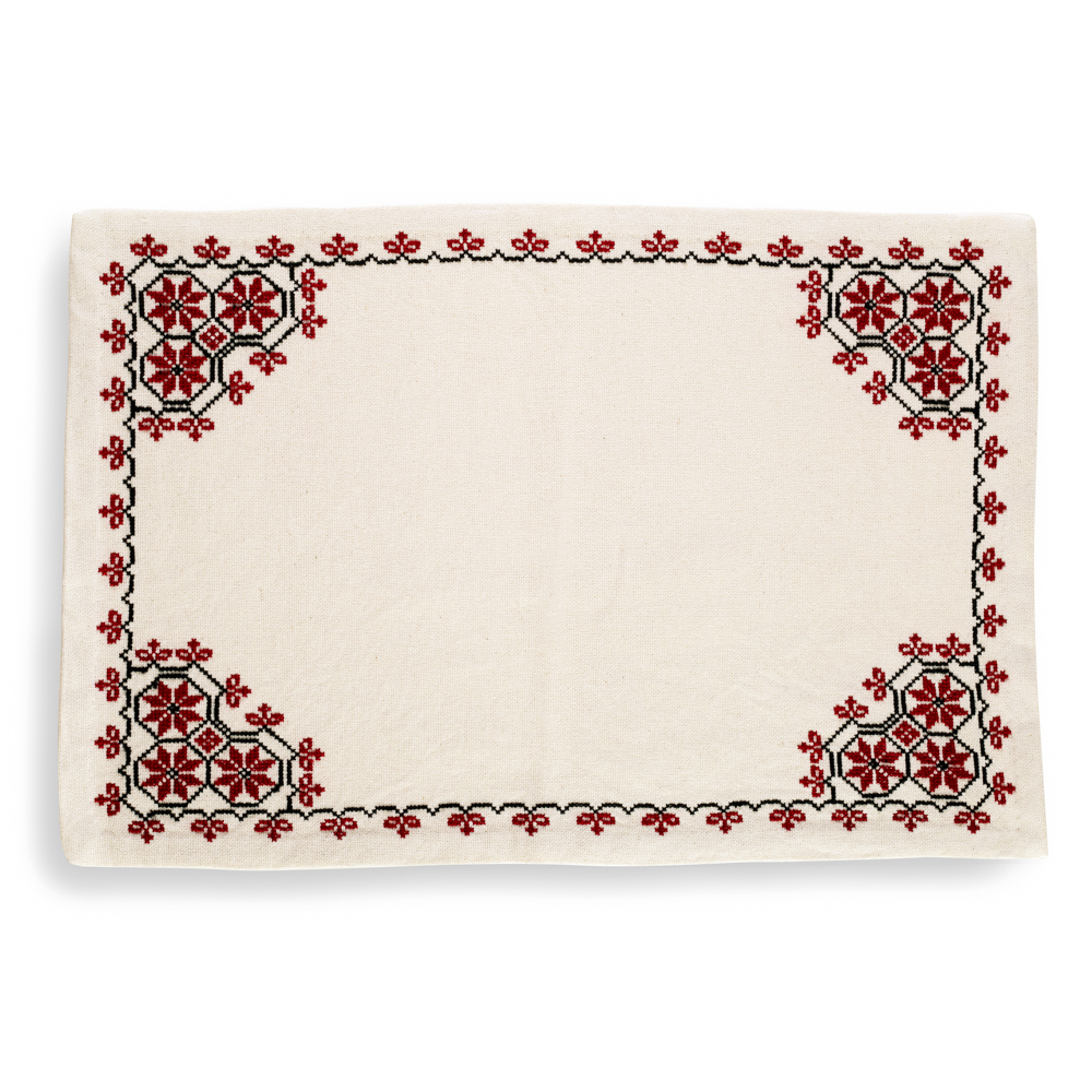 Placemat - Canaanite Stars (Red)