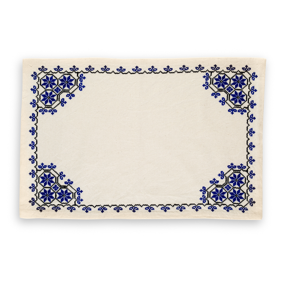 Embroidered Placemat - Canaanite Stars