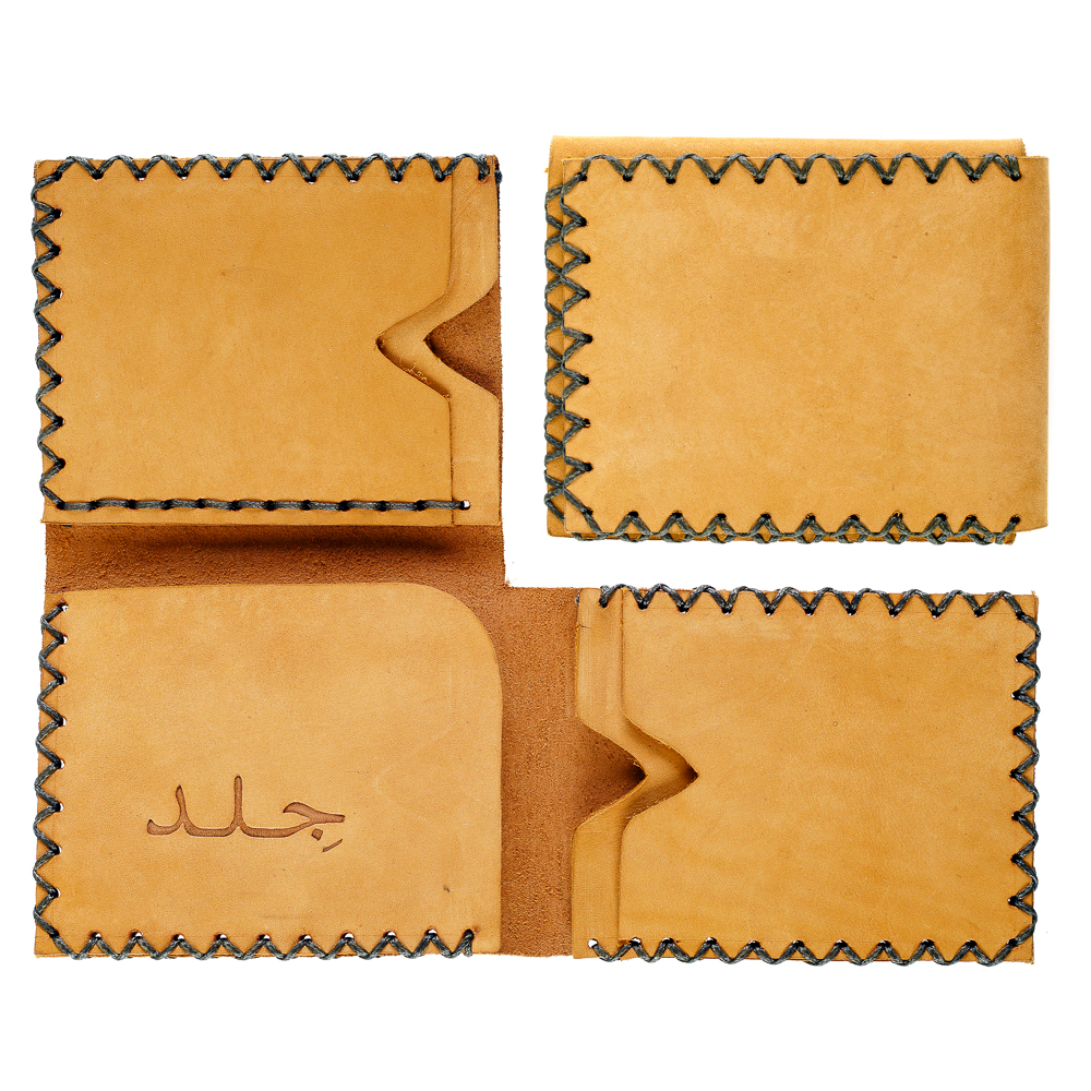 Three-face Wallet - Camel