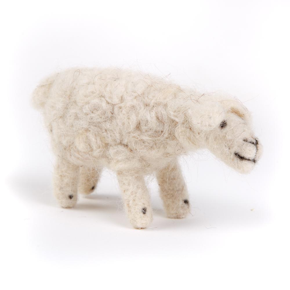 Bedouin Needle-felted Sheep