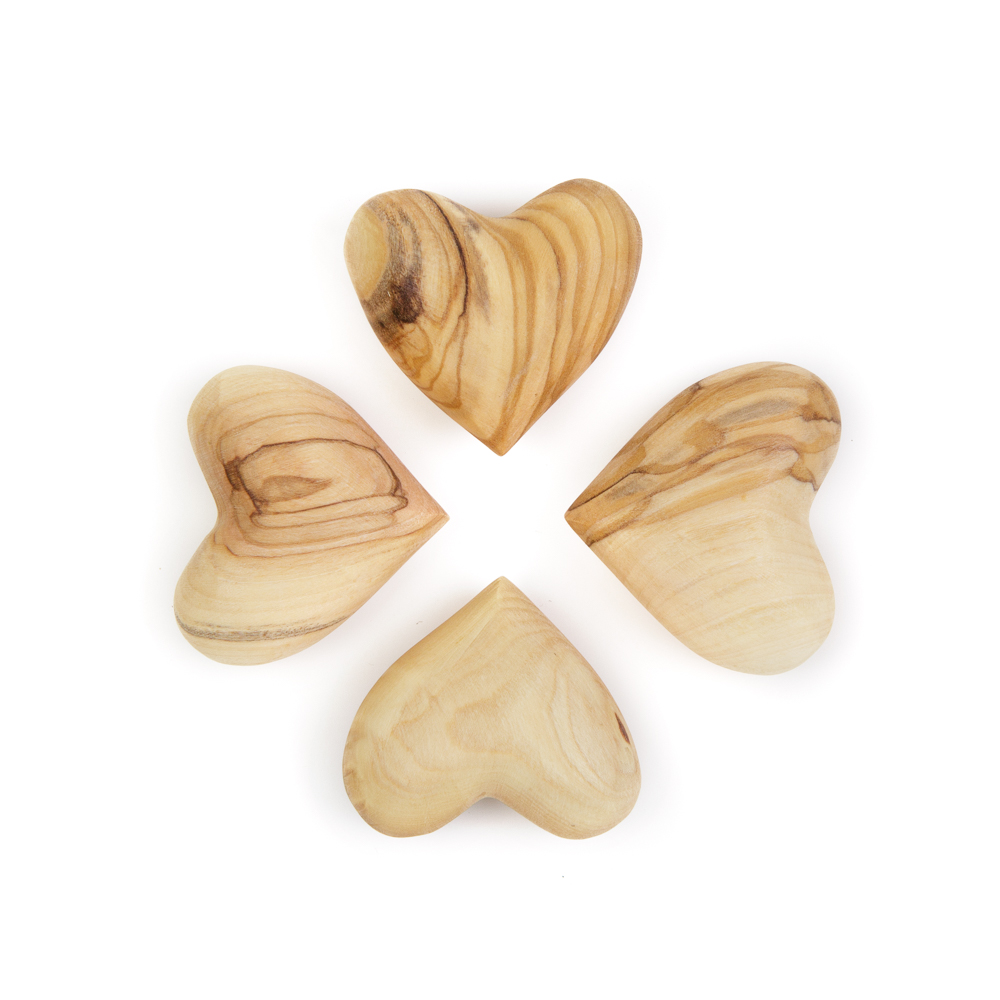 Olivewood Heart (S)