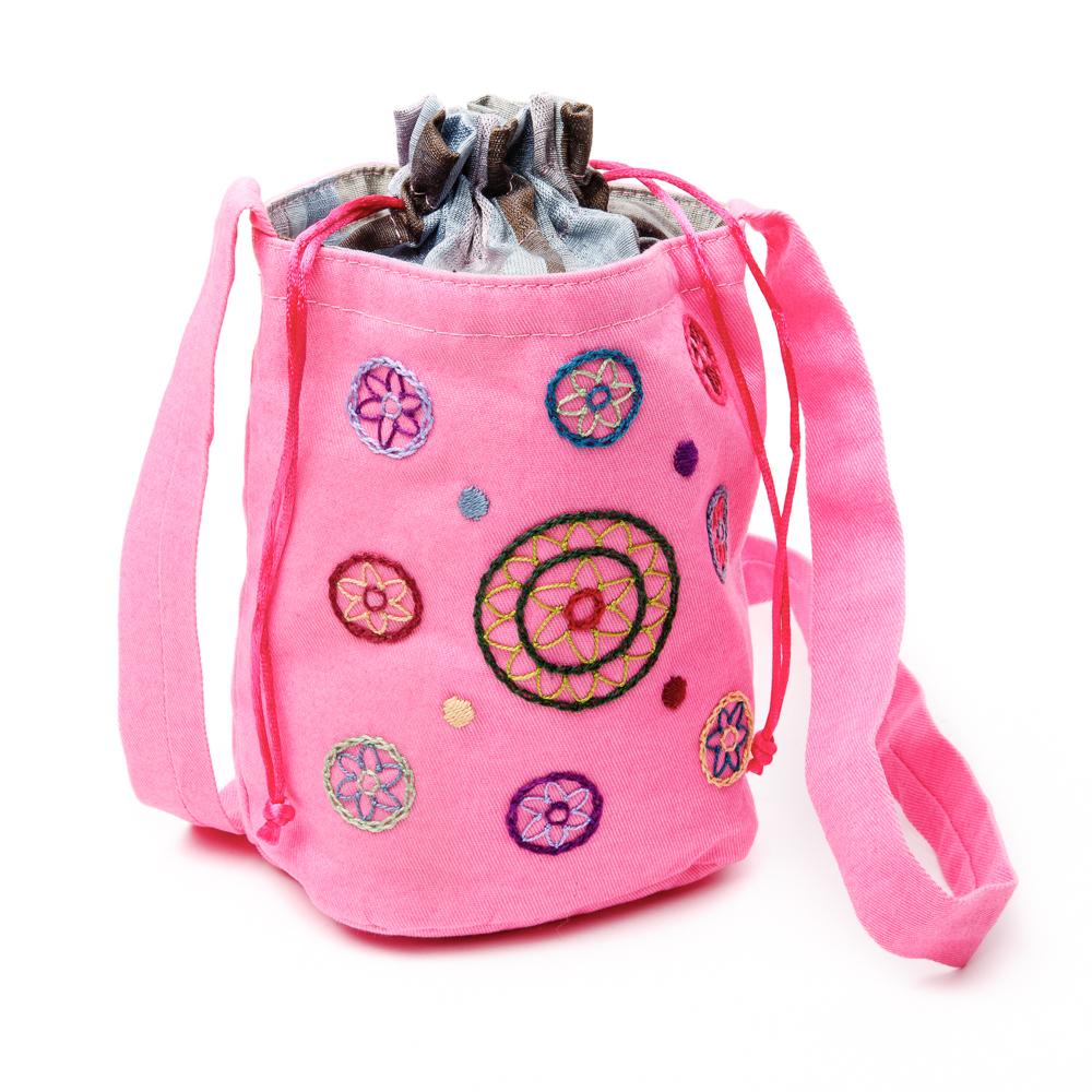 Draw-String Shoulder Bag