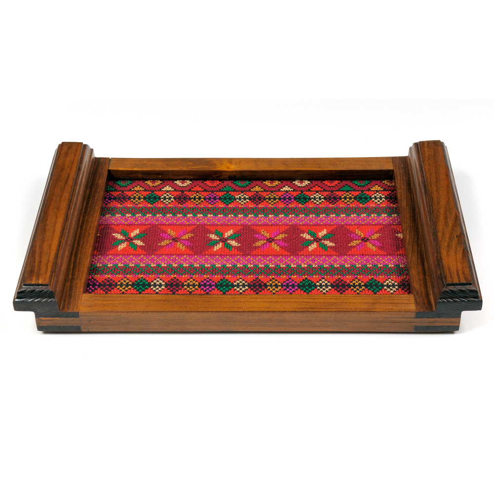 Small Wooden Tray - Old Palestine (S)