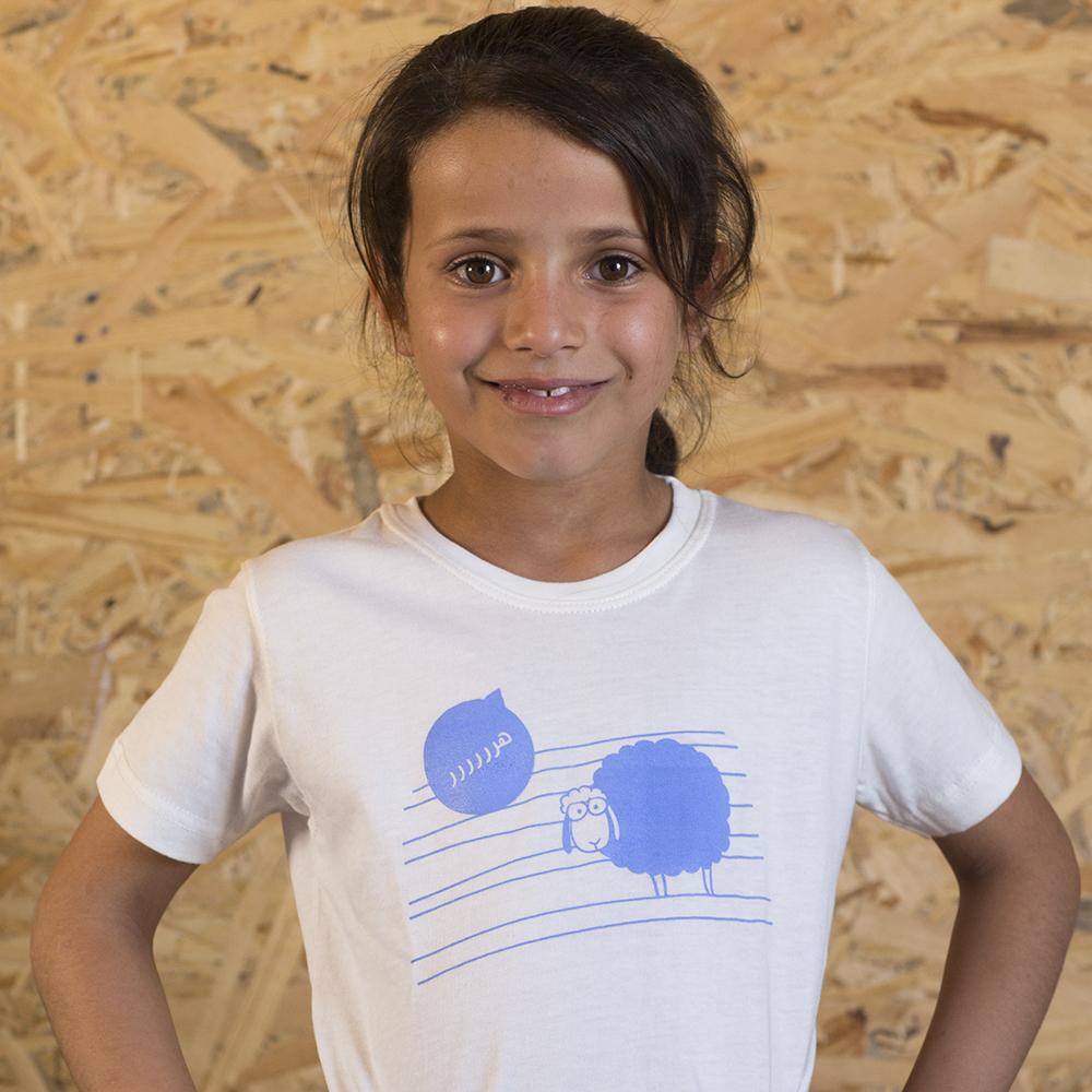 Kids' T-shirt 'Sheep'